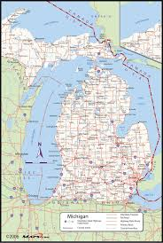 map of michigan popular 207 list map michigan