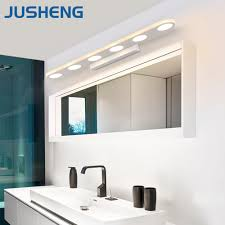 aliexpress com buy jusheng modern white color led bathroom light