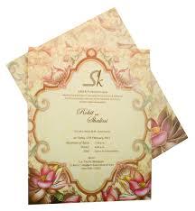 Wedding Card Blessings Card