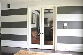 how to paint perfect wide stripes honey we u0027re home