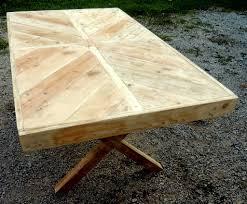Table De Jardin En Palette by Briovere Buffentis