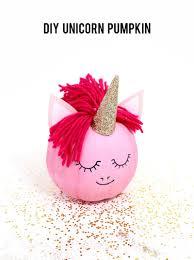 how to make a unicorn pumpkin no carve pumpkin ideas from