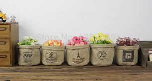 aliexpress com buy free shipping natural burlap wedding