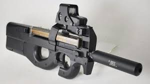 siege fn fn p90 carried by 6 guns weapons and knives