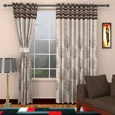 Curtains Set Sharda Modern Jute Door Curtains Set Of 2 9 X 4