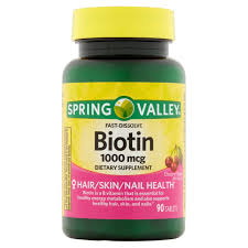 spring valley biotin softgels 1000mcg 150 ct walmart com