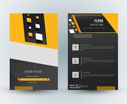 adobe illustrator flyer template free vector download 218 463