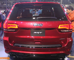 jeep grand cherokee srt red jeep india wrangler grand cherokee cherokee srt showcased auto