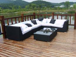 Rattan Settee Rattan Sectional Sofa Sets Rattan Garden Tables Merax 9 Piece
