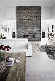 Grey Feature Wall Feature Brick Walls 3907