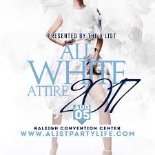 all white party 2017 featuring the all white attire affair aug 5th tickets