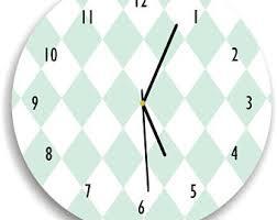 Scandinavian Wall Clock White Wall Clock Etsy