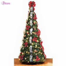 christmas christmas how to decorate tree with ribbon vertically