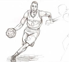 basketball player drawing how to prepare a business budget diagram