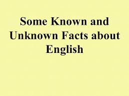 some known and unknown facts about you ppt