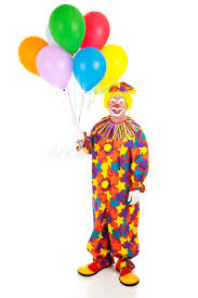 clown balloon l classic clown with balloons stock photo image of birthday