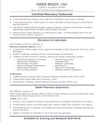 pharmacy technician resume exles exle of pharmacy technician resume sle writing guide 1 9 free