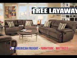Living Room Furniture Layaway American Freight Furniture 7 Piece Living Room Commercial Youtube