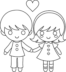coloring page boy and az coloring pages coloring pages for