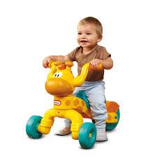 amazon com little tikes go and grow lil u0027 rollin u0027 giraffe ride on