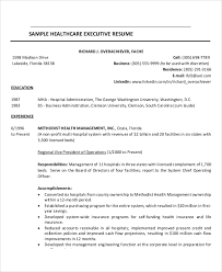 Example Of Healthcare Resume by Sample Healthcare Resume 7 Examples In Word Pdf