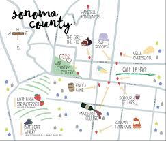 Sonoma Winery Map Eat Drink And Be Merry In Sonoma The Bay Club Blog