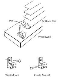 Plastic Clips For Blinds Blind Alley Levolor Riviera Blinds Installation Instructions