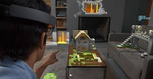 hologram minecraft takes over your whole living room the daily dot