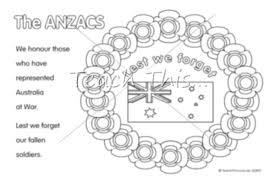 anzac poppy wreath anzac teacher resources worksheets