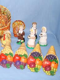 cornucopia decorations thanksgiving table decorations cornucopia candle turkey salt