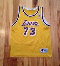 dennis rodman los angeles lakers nba fan apparel u0026 souvenirs ebay