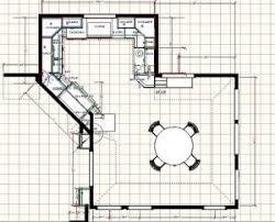 kitchen u shaped houses house floor plans modern kitchen plan
