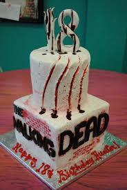 specialty birthday cakes specialty birthday cakes walking dead birthday cakes cakes