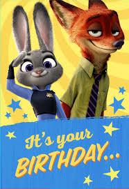 halloween birthday ecards free zootopia happy birthday cards