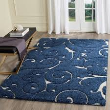 Blue Area Rugs Alison Light Blue Area Rug Reviews Birch