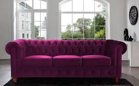 sofas center watson loveseat in como deep purplevet roger chris