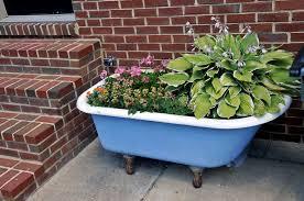 designs wonderful bathtub planter box 107 loving my antique