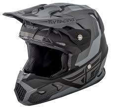 matte black motocross helmet toxin matte black grey helmet fly racing motocross mtb bmx