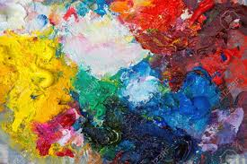 Paint Pallet by Palette With Oil Paint Stock Photo Picture And Royalty Free Image