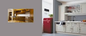 peinture melamine cuisine beau repeindre meubles de cuisine melamine 2 relooker des