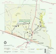 Mt Diablo State Park Map by The Road Organ Pipe Cactus National Monument