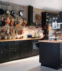 porte cuisine vitr cuisine noir ikea avec faces de tiroir et portes brun vitr es laxarby jpg