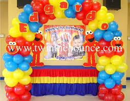 sesame decorations 23 best sesame balloon ideas images on balloon