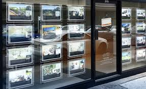 display case led lighting systems 4units column led illuminated real estate window display system a4
