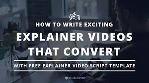 write an awesome explainer video script that converts free template