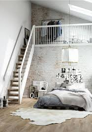 industrial interiors home decor these lofts are up in the clouds with their white designs first