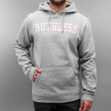 mister tee overwear hoodie get money in grey men mt484hegry