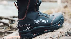 budget motorcycle boots korkers and stlhd intro limited edition wading boots hatch