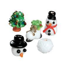 snow scene lampwork beads 12mm 18mm orientaltrading com snow