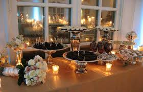 Buffet Table Decor by Dessert Buffet Table Design Ideas Information About Home